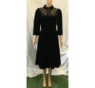 Hearts & Roses Dress Black Size: 12