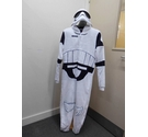 M&S 15yrs StarWars onesie & helmet Black & white Size: One size: regular