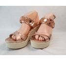 Unisa NEW Wedge Sandals Rose Gold Size: 6
