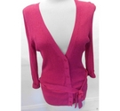 Monsoon buttoned cardigan Pink Size: 14