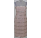 Phase Eight lace & sequin dress pink Size: 12