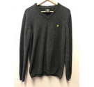 LYLE & SCOTT Lambswool Jumper Grey Size: M