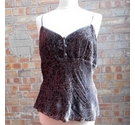 Monsoon Viscose/Silk Camisole Top Brown Size: 16