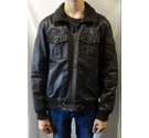 Vintage Brown Leather Jacket Leather jacket Brown Size: S
