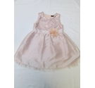 George party/ bridesmaid's dress peach Size: 3 - 4 Years