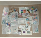 Lot of Used World Stamps - Off paper - 120g