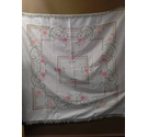 Hand Made Pure Linen Vintage Tablecloth