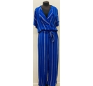 Selected Femme Jumpsuit Blue and White Size: 36
