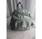 Cath Kids Laminated Floral Backpack Blue Mix Size: S