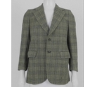 Christian Dior Monsieur Checked Tweed Blazer Green Size: M