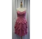 Riess Party Dress Strawberry Pink Size: 14
