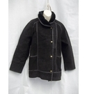 Neuville Vintage Ladies' Coat Black Size: 14
