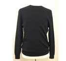 Autograph M&S round neck cotton jumper navy Size: L