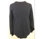 Nor easterly Harley & Co traditional wool jumper Navy Size: XL