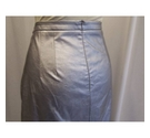 Mohito Collection calf length retro pencil skirt Silver Size: 16