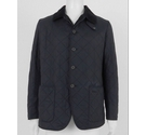 Barbour Quilted Jacket Dark Blue Size: L