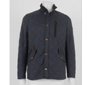 Barbour Land Rover Quilted Jacket Blue Size: S