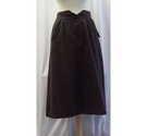Reldan Vintage skirt Brown Size: 14