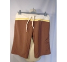 Animal shorts brown Size: S