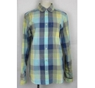 Pretty Green Checked shirt Blue & green Size: XS