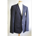 Mark & Spencer Tailored Fit Suit Navy Blue Size: S