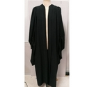 Vintage Ede and Ravenscroft academic gown black Size: L