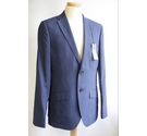 Mark & Spencer Tailored Fit Suit Blue Size: XS