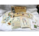 Bumper Bundle: Mixed World Stamps, on and off paper.