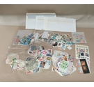 Lot of Used World Stamps - Mostly off Paper - 200g