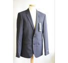 Mark & Spencer Tailored Fit Suit Dark Navy Size: M