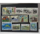 14 Mint Condition Stamps from the Faeroe Islands