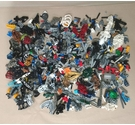 Bionicles and Lego - 650g Approx - Job Lot of Pieces