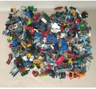 Bionicles and Lego - 1.0 kg Approx - Job Lot of Pieces
