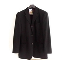 Ted Baker Two Piece Pure Wool Suit Black Size: M