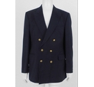 Aquascutum Double Breasted Blazer Navy Size: XL
