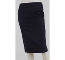 Calvin Klein Wool Pencil Skirt Dark Grey Size: 12
