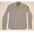 Superdry Long Sleeved Shirt Grey Size: M