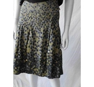 Unbranded flared skirt spotty Size: 12