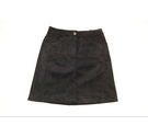 M&S Collection Velvet Mini Skirt Black Size: 6