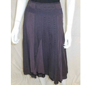 per una fully lined cotton skirt purple Size: 12