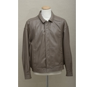 The Big Ben Collection Leather Jacket Taupe Size: XL