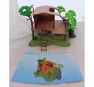 PLAYMOBIL Treasure Hunters Tree House Set 7937 - COMPLETE