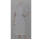 Griff '80s Brand New Work Dress Brilliant White Size: 12