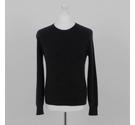 Burberry Cashmere Cable Jumper Charcoal Size: M