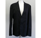 Marc Jacobs Cotton Single Breasted Jacket Black Size: L