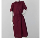 Griff '80s Brand New Work Dress Berry Red Size: 20
