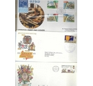 15 Foreign FDC envelopes
