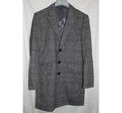 Louis Feraud Wool and Cashmere Coat Grey Size: S