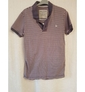 Jack Wills Short Sleeve Polo Shirt Pink and Purple Size: XS