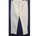 M&S straight fit jeans cream Size: S